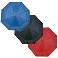Drizzles Wood Handle Supermini Umbrella - Black, Navy, Burgundy